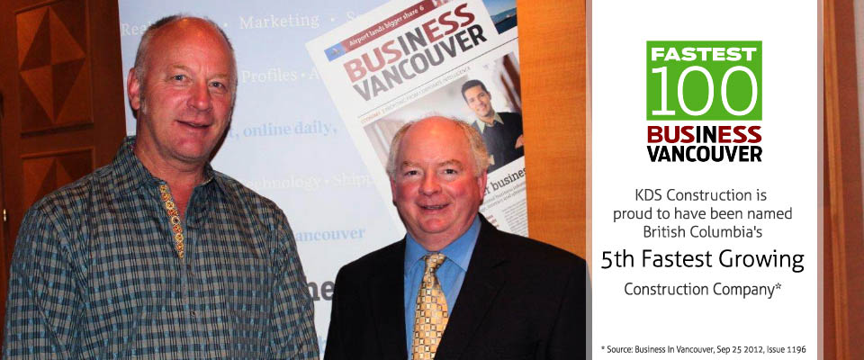 Business in Vancouver - Fastest Growing Companies