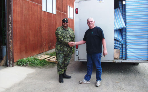 Canadian Army Cadet Unit Bunk Bed Donation